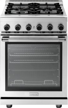 "Range NEXT 24"" Panorama Stainless steel 4 gas, gas oven"