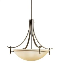 Olympia 5 Light Inverted Pendant Olde Bronze®