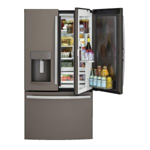 ®27.8 Cu. Ft. French-Door Refrigerator with Door In Door - SLATE