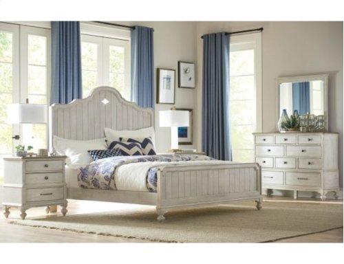 Laurel Panel Cal King Bed Complete