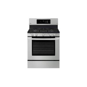 LG 鸭博娱乐s5.4 cu. ft. Gas Single Oven Range with Fan Convection and EasyClean®
