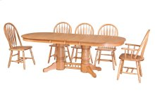 "45/68-3-12"" Sqr/Rnd Trestle Table"
