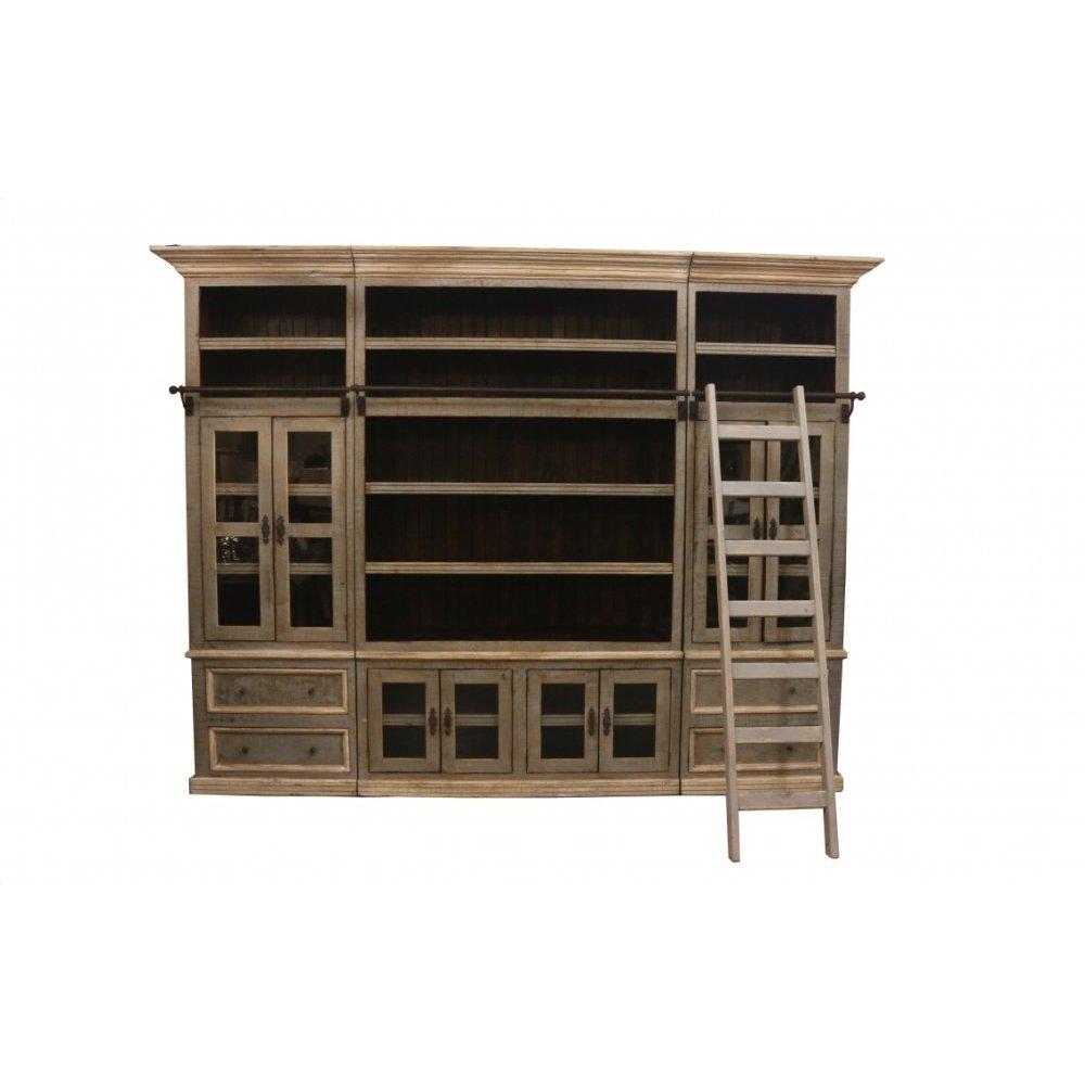 Factory 4 Rustic 5 Piece Bookcase
