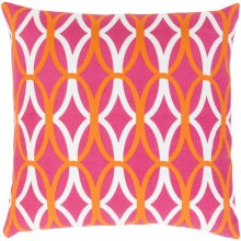 "Miranda MRA-011 18"" x 18"" Pillow Shell Only"