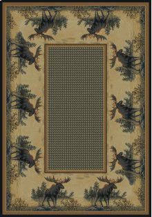 Hautman Northwood Moose Rugs