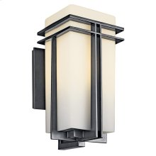 Tremillo Collection Tremillo Fluorescent 1 Light Wall Light in Black