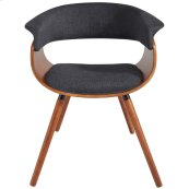 Holt Accent Chair in Charcoal Grey