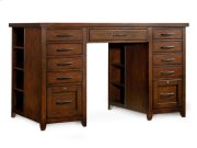 Utility Desk Complete (Two Drawer Pedestals) Product Image