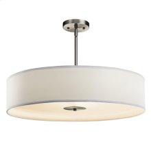 3 Light Semi Flush/Pendant - 42122NI