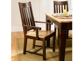 Two-tone Slat Side Chair
