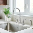 Delancy Widespread Kitchen Faucet  American Standard - Polished Chrome Product Image