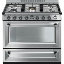"Free-standing All-Gas ""Victoria"" Range 36"" - Stainless steel"