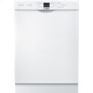 24' Recessed Handle Dishwasher 300 Series- White Product Image