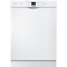 24' Recessed Handle Dishwasher 300 Series- White