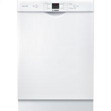 24' Recessed Handle Dishwasher 300 Series- White