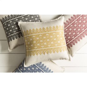 "Pentas PEN-001 22"" x 22"" Pillow Shell Only"