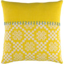 """Delray DEA-003 18"""" x 18"""" Pillow Shell with Down Insert"""
