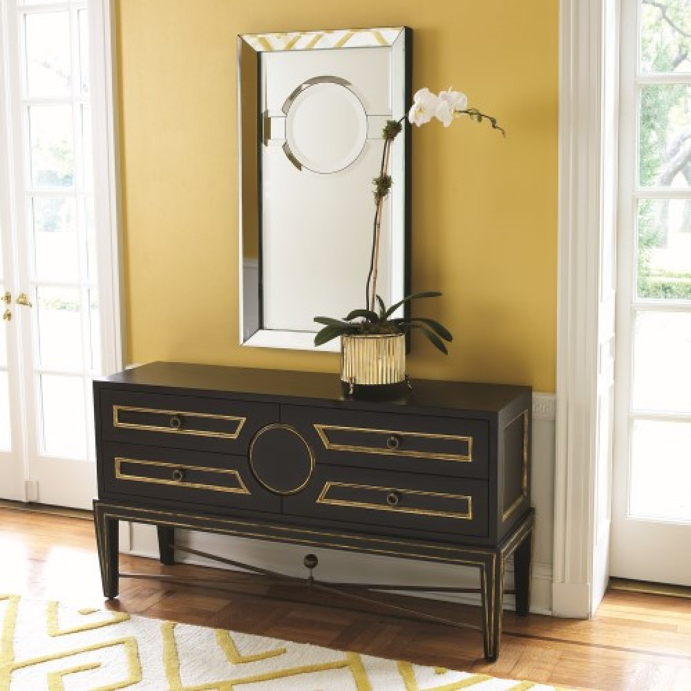 Collectors Cabinet-Console-Black