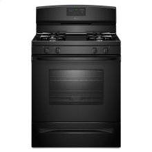 Amana® 5.0 cu. ft. Gas Oven Range with Easy Touch Electronic Controls - Black