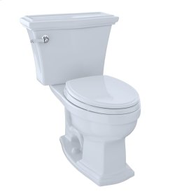 Eco Clayton® Two-Piece Toilet, 1.28 GPF, Elongated Bowl - Cotton
