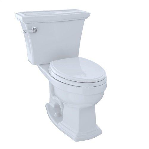 Eco Clayton® Two-Piece Toilet, 1.28 GPF, Elongated Bowl - Cotton