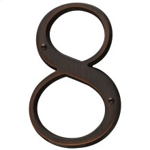 Venetian Bronze House Number - 8