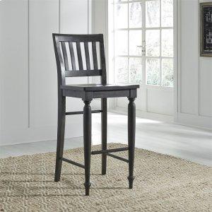 Liberty Furniture Industries Slat Back Bar Stool (Rta)