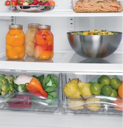 GE® 22.7 Cu. Ft. French-Door Refrigerator