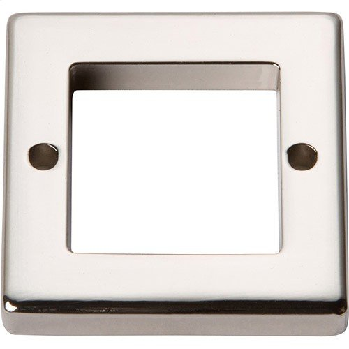 Tableau Square Base 1 7/16 Inch - Polished Nickel