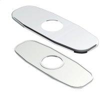 "Chrome 4"" Centerset Lavatory Cover Plate"