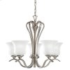 Wedgeport Collection Wedgeport 5 Light Chandelier - Brushed Nickel