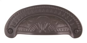 D Etched Cup Pull 3 1/4 Inch (c-c) - Aged Bronze
