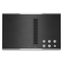 "Jenn-Air® Electric Radiant Downdraft Cooktop, 36"" - Stainless Steel"