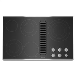 """Jenn-Air® Electric Radiant Downdraft Cooktop, 36"""" - Stainless Steel"""