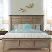 Myra - Queen/king Bed Rails - Natural Finish