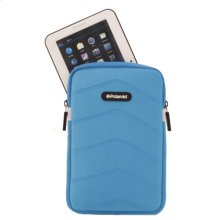 Polaroid Plush Neoprene 7 Inch Tablet Sleeve, Blue - PAC170BL