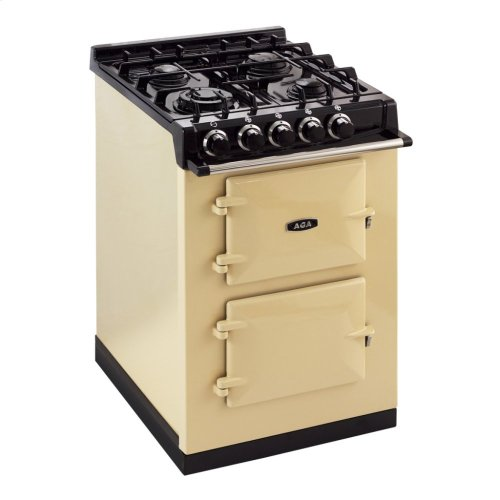 Black AGA City 24 Dual Fuel