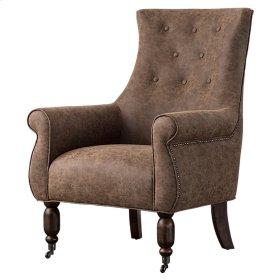 Danica KD PU Arm Chair, Kalahari Brown