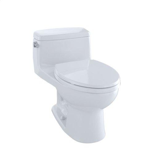 Eco Supreme® One-Piece Toilet, 1.28 GPF, Elongated Bowl - Cotton