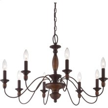 Holbrook Chandelier in Tuscan Brown