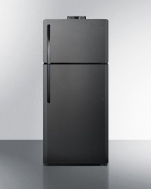 21 CU.FT. Break Room Refrigerator-freezer In Black With Nist Calibrated Alarm/thermometers