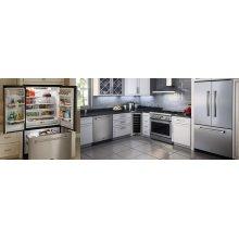"36"" Counter Depth French Door Refrigerator (Marvel Professional) - 36"" Marvel Professional Counter Depth French Door Refrigerator"