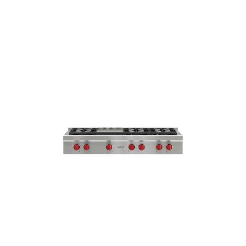 48 Sealed Burner Rangetop 6 Burners And Infrared Griddle