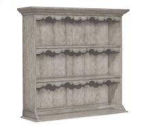 Grey Oak Hanging Shelf Unit Without Hooks