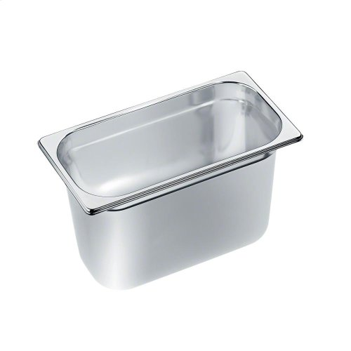 DGG 18 Unperforated steam oven pan for cooking food in gravy, stock, water (e.g. rice, pasta).