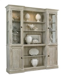 Madagascar Breakfront Cabinet