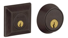 Distressed Venetian Bronze Squared Deadbolt