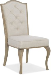 Modern Romance Upholstered Side Chair