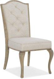 Modern Romance Upholstered Side Chair