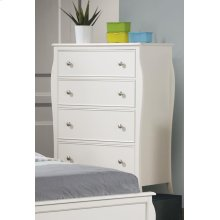Dominique French Country White Chest
